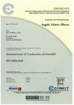 Certificazione UNI 10801:1998